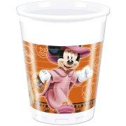 8 Gobelets Mickey et Minnie Halloween