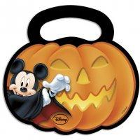 Contient : 1 x 6 Pochettes cadeaux Mickey et Minnie Halloween