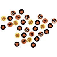 Contient : 1 x Confettis Mickey et Minnie Halloween