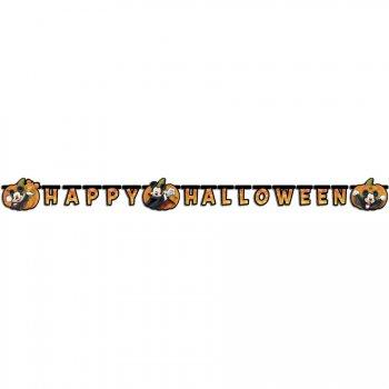 Guirlande lettres Mickey Happy Halloween