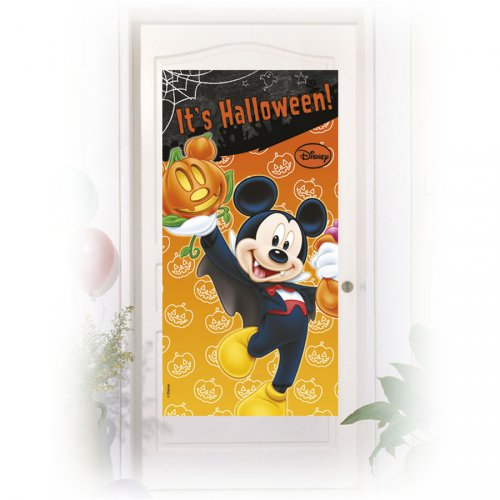 Affiche de porte Mickey Halloween