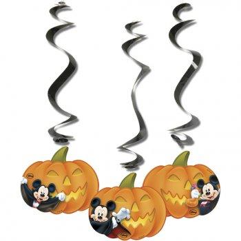 3 Décorations à suspendre Mickey Halloween