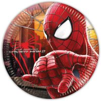 Contient : 1 x 8 Assiettes Amazing Spiderman 2
