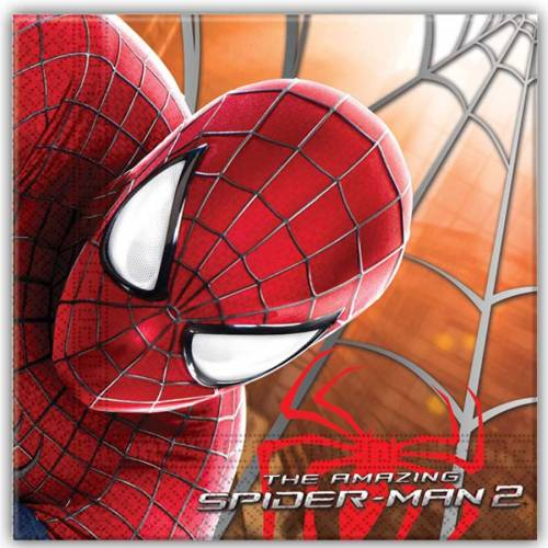 20 Serviettes Amazing Spiderman 2