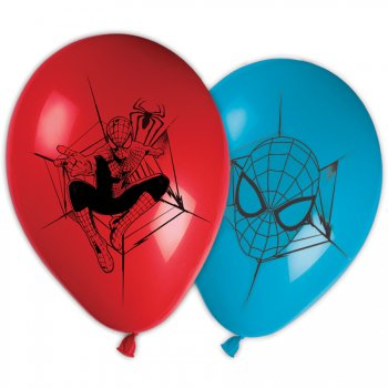 8 Ballons Amazing Spiderman 2