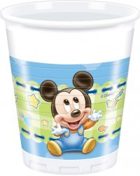 Contient : 1 x 8 Gobelets Mickey Baby