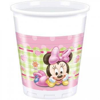 8 Gobelets Minnie Baby