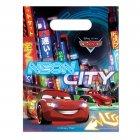 6 Pochettes Cadeaux Cars Néon City