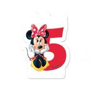 Bougie Minnie Chiffre 5