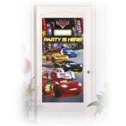 Affiche de Porte Cars Neon � personnaliser