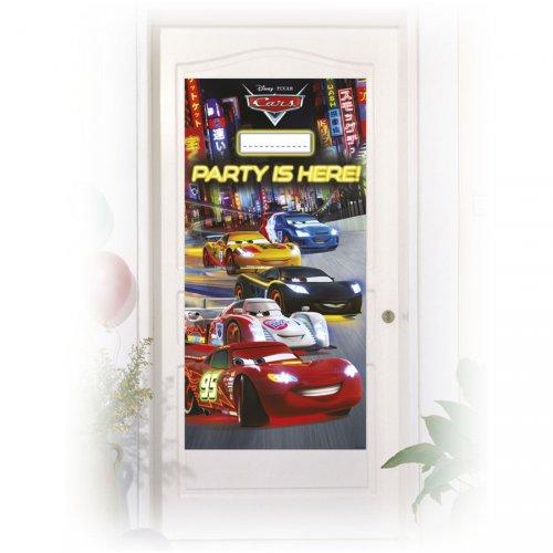 Affiche de Porte Cars Neon à personnaliser