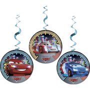 3 D�corations Spirales Cars Neon