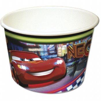 8 Pots à bonbons Cars Neon