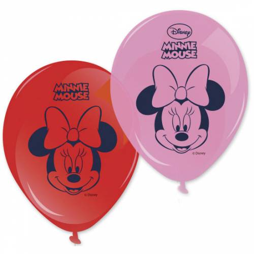 8 Ballons Espiègle Minnie