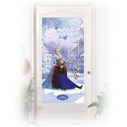 Affiche de Porte Reine des Neiges sur Glace