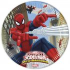 8 Assiettes Spiderman Web-Warriors