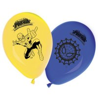 Contient : 1 x 8 Ballons Spider-Man Web-Warriors
