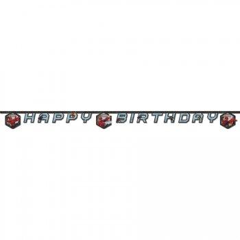 Guirlande lettres Happy Birthday Spider-Man Web-Warriors