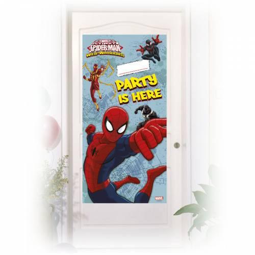 Affiche de Porte Spider-Man Web-Warriors