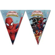 Guirlande Fanions Spider-Man Web-Warriors