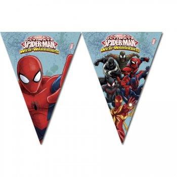 Guirlande Fanions Spider-Man Web-Warriors