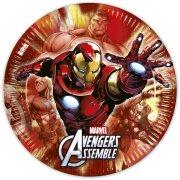 8 Assiettes Avengers Rassemblement