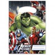 6 Pochettes à Cadeaux Avengers Rassemblement
