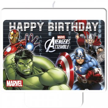 Bougie Avengers Anniversaire