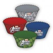24 Moules à Cupcakes Avengers Rassemblement