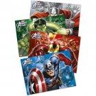 4 Sets de table Avengers Rassemblement