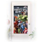 Affiche de Porte Avengers Rassemblement