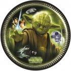 8 Petites Assiettes Star Wars Yoda