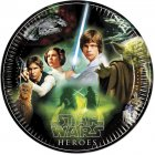 8 Assiettes Star Wars Heroes