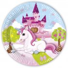 8 Assiettes Licorne Enchant�e