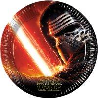 Contient : 1 x 8 Assiettes Star Wars - Le Réveil de la Force