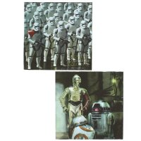 Contient : 1 x 20 Serviettes Star Wars - Le Réveil de la Force