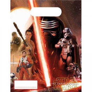 6 Pochettes cadeaux Star Wars - Le Réveil de la Force
