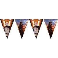 Contient : 1 x Guirlande Fanions Star Wars - Le Réveil de la Force