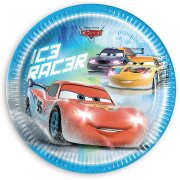 8 Assiettes Cars Ice