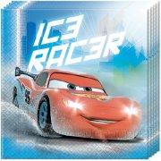 20 Serviettes Cars Ice