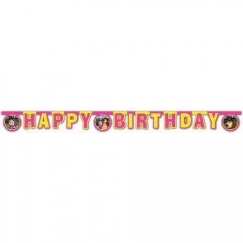 Guirlande lettres Happy Birthday Masha et Michka
