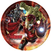 8 Assiettes Avengers 2 Ultron