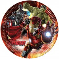 8 Assiettes Avengers 2 Ultron