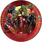 8 Petites Assiettes Avengers 2 Ultron