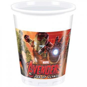 8 Gobelets Avengers 2 Ultron