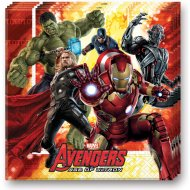 20 Serviettes Avengers 2 Ultron