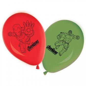 8 Ballons Avengers 2