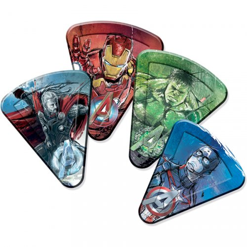 8 Assiettes Pizza Avengers