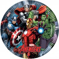 8 Assiettes Avengers Power
