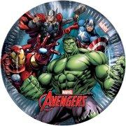 8 Petites Assiettes Avengers Power